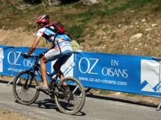 VTT competitor in Oz en Oisans