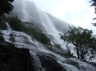 La Fare waterfall