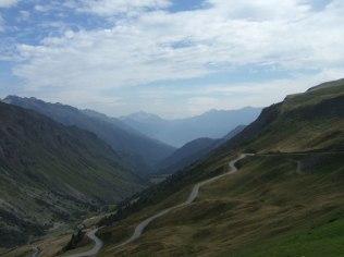 Vaujany valley in summer