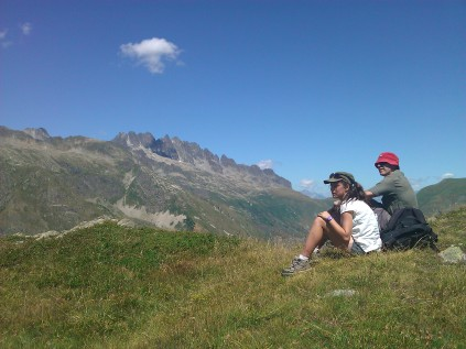 Picnic on the Col du Sabot